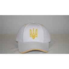"""Бейсболка """" Украина """" модель №2 ( Белая )"""