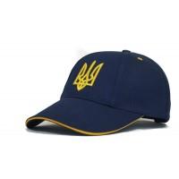 """Бейсболка """" Украина """"   модель №2  ( Темно-синяя )"""