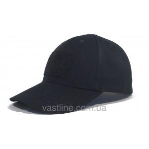 Бейсболка тактическая черная (TACTICAL CAP BLACK)