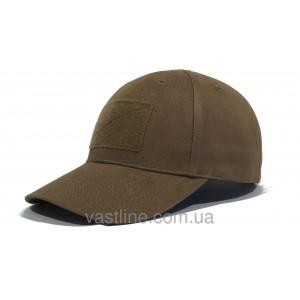 Бейсболка тактическая черная (TACTICAL CAP COYOTE)